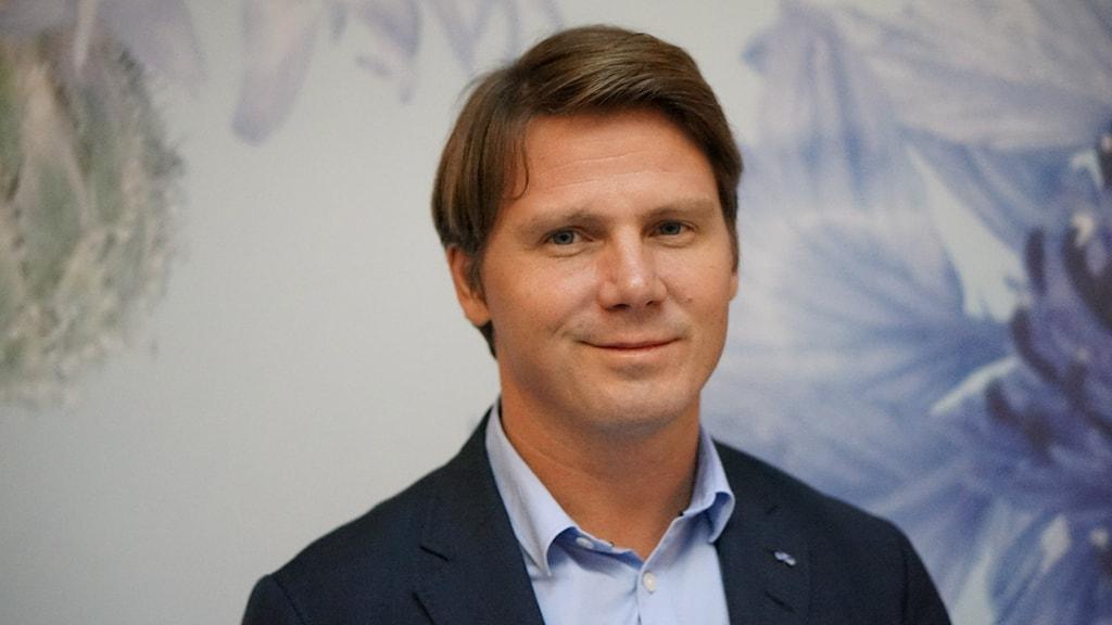 Erik Ullenhag. Foto: Lotta Hoppu / Sveriges Radio Sisuradio