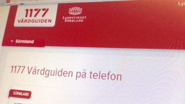 Neuvontapalvelu 1177 ei auta vieläkään suomeksi