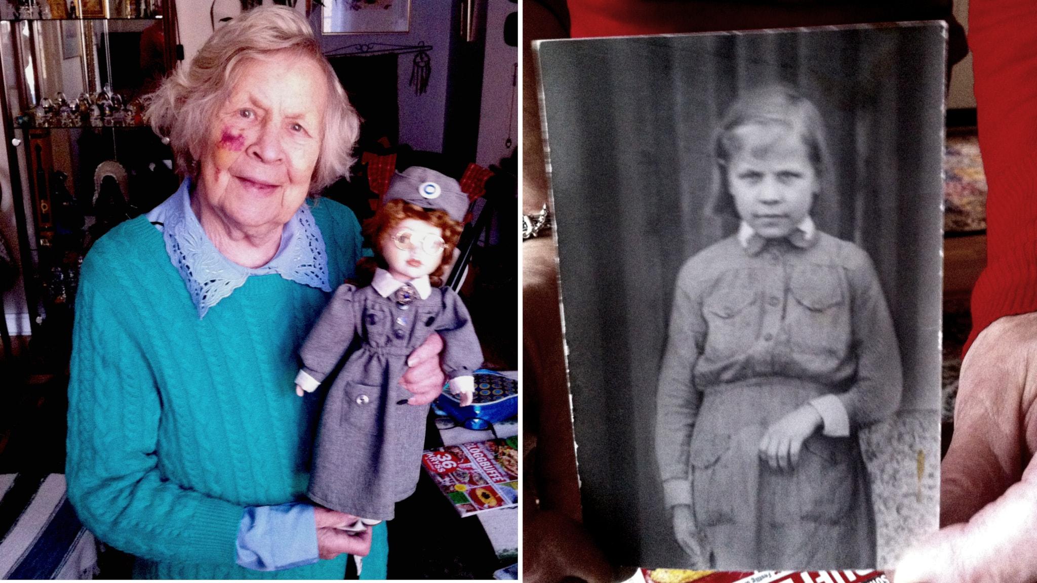 Sodassa pikkulottana toiminut Lahja Johansson: En ole enää evakossa