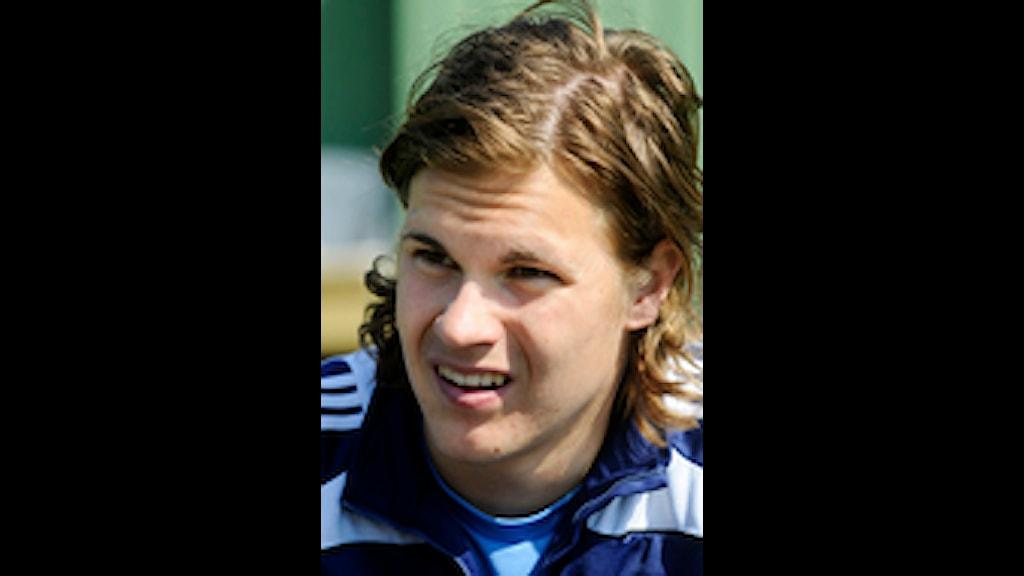 Sebastian Rajalakso, fotbollsspelare DIF. Foto: Lars Pehrson /  SCANPIX