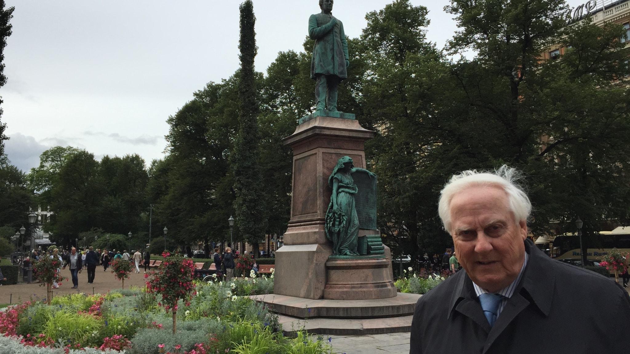 Suurlähettiläs Heikki Talvitie. Foto: Pirjo Hamilton/SR