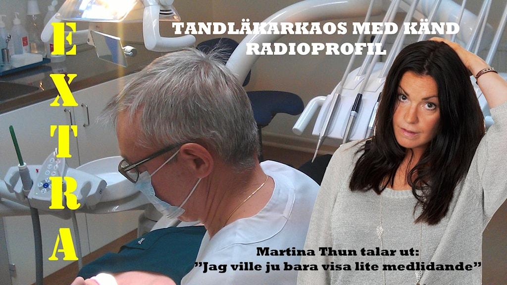 Martina hos tandläkaren