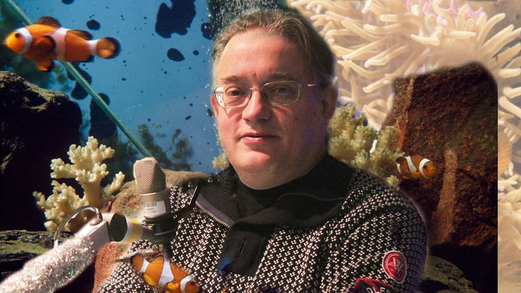 Fiskforskaren Bertil Borg snackar djuphavsfiskar
