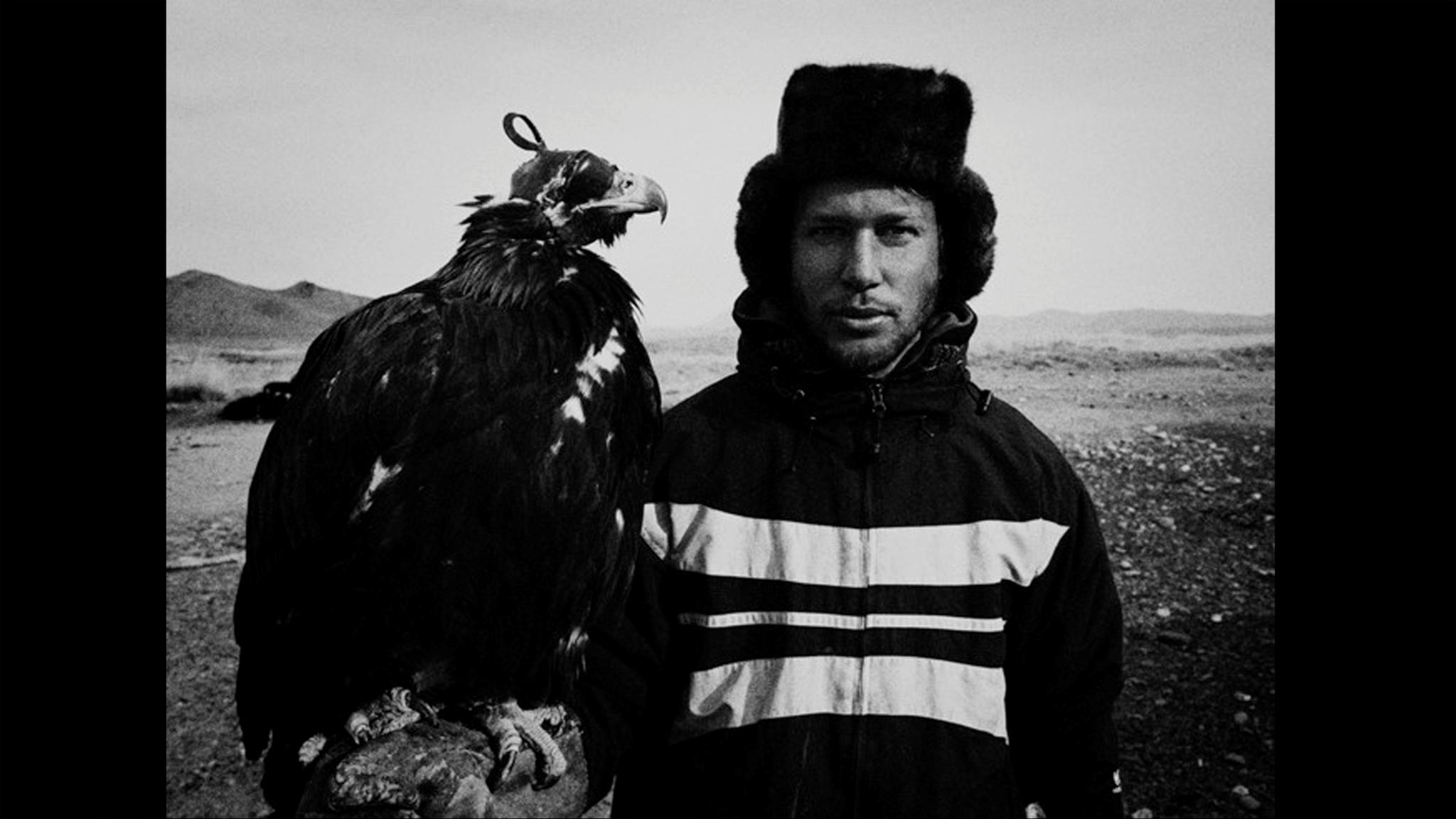 Livet som örnjägare på den Mongolska steppen