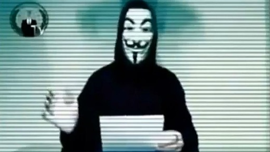 Anonymous threatens biggest yet cyber attack on Sweden