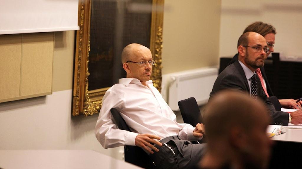 Peter Mangs as the appeals trial opened, Photo: Stig-Åke Jönsson/Scanpix