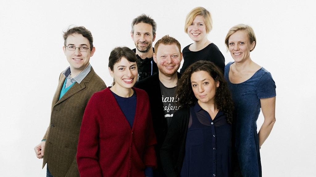 Radio Sweden Gaby Katz, Loukas Christodoulou, Dave Russell, Ulla Engberg, Brett Ascarelli, Nathalie Rothschild, Kris Boswell ISIDOR