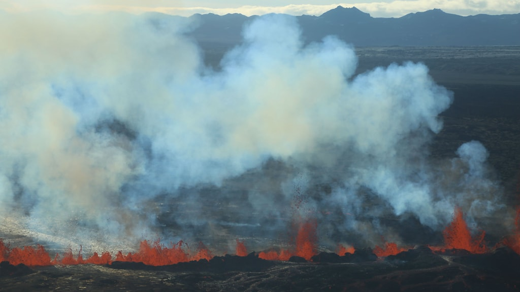 Is the Bardarbunga volcano on Iceland the cause of the pong? Photo: AP Photo/Stefano Di Nicolo / TT