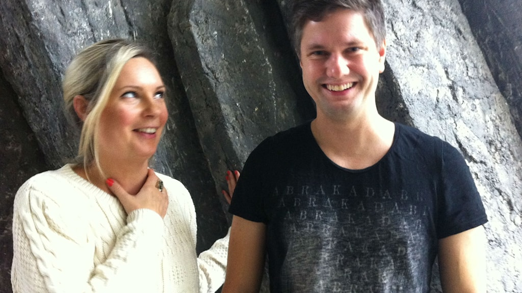 Johanna Wagrell and Fredrik Andersson. Photo: Radio Sweden