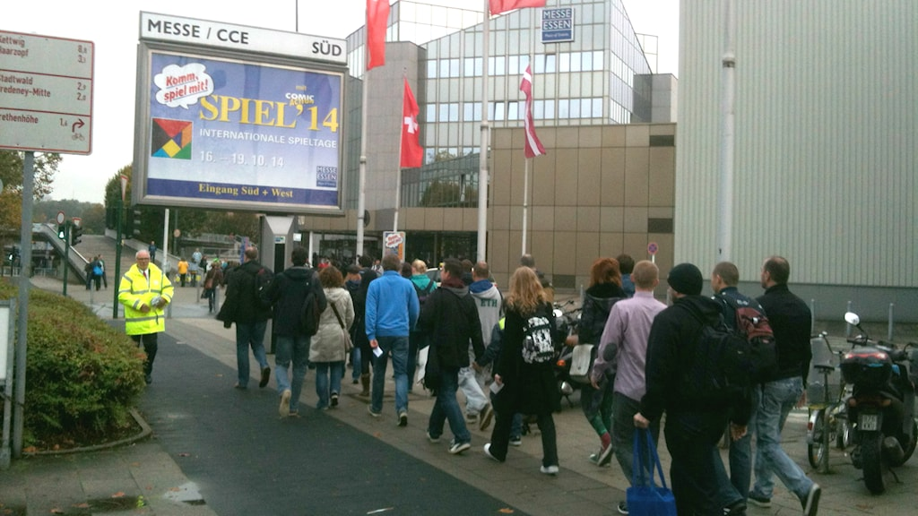 Essen Spiel entrance. Photo: Ryan Tebo