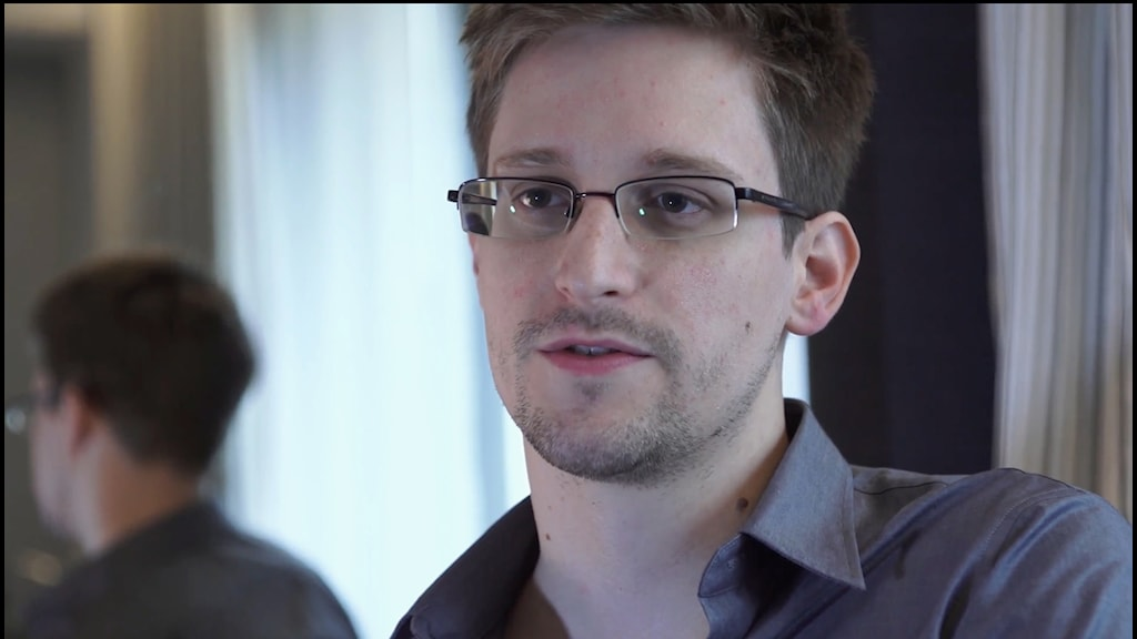 Edward Snowden. Photo: AP Photo/The Guardian/Glenn Greenwald/Laura Poitras/TT