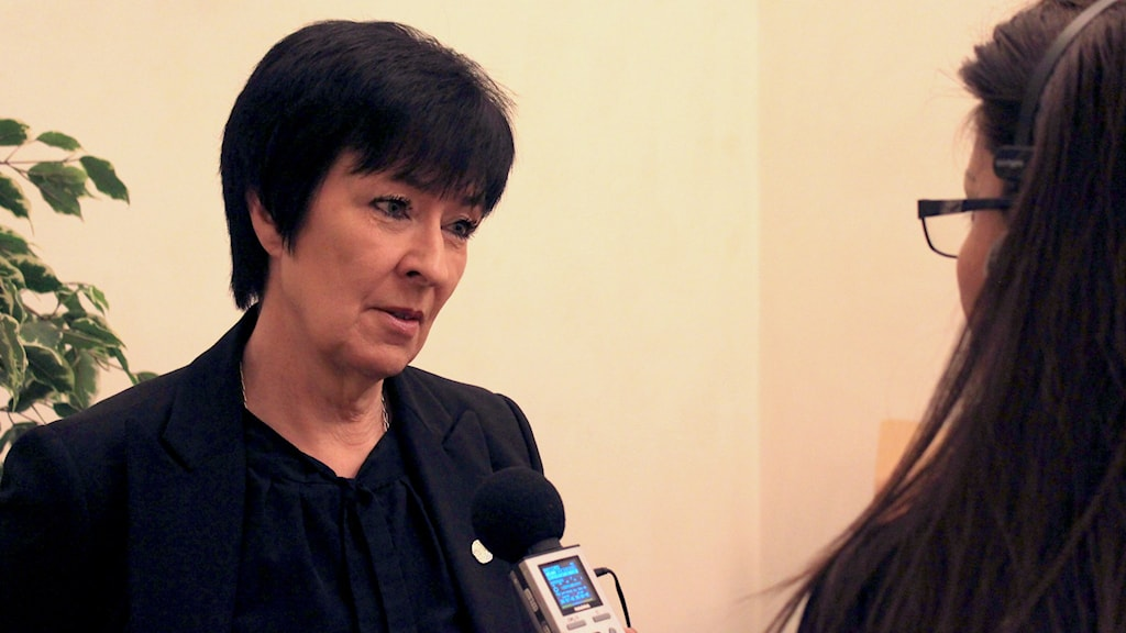National coordinator against violent extremism Mona Sahlin is behind the initiative. Photo: Ryan Tebo / Sveriges Radio.