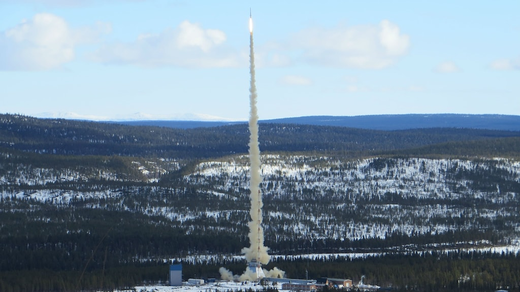 The shrimps blast off into space at the Esrange site near Kiruna. Photo: Airbus DS GmbH