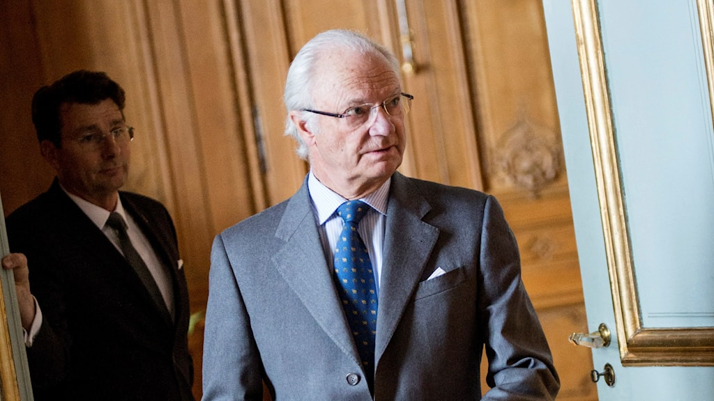 Swedish King Carl XVI Gustaf. Photo: Christine Olsson / TT.