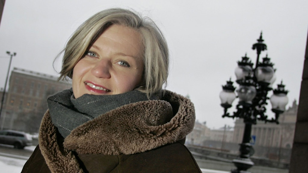 Erika Sunnegårdh. Foto: Jonas Ekströmer/TT