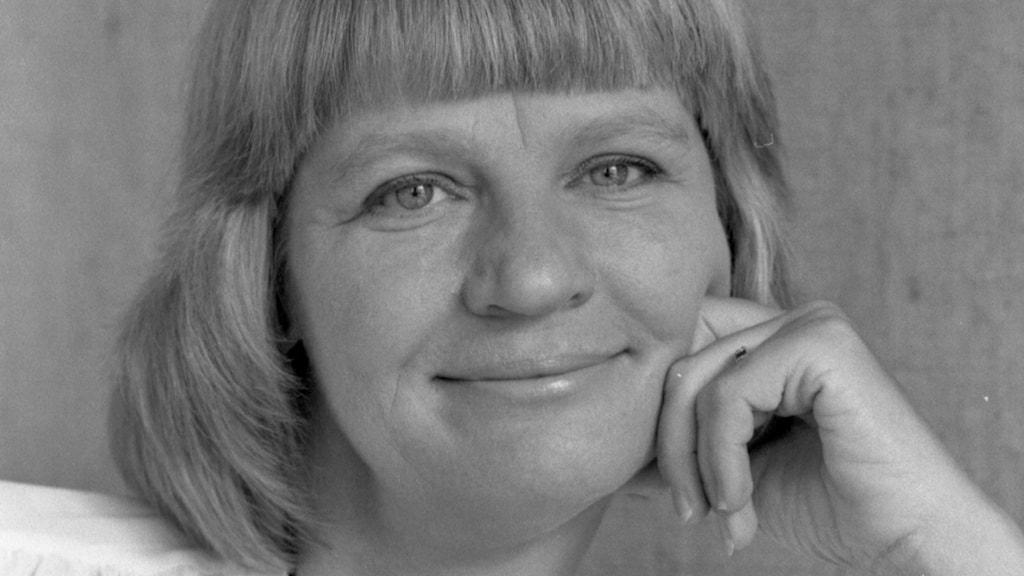 Viveka Vogel. Foto: Anders Roth /Sveriges Radio (från 1982)