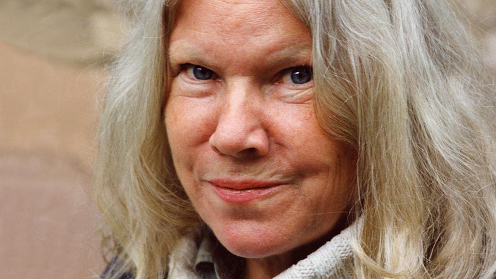 Birgitta Stenberg 1993. Foto: Pawel Flato / TT.
