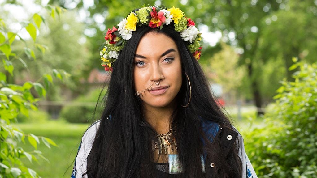 Maxida Märak Foto: Mattias Ahlm