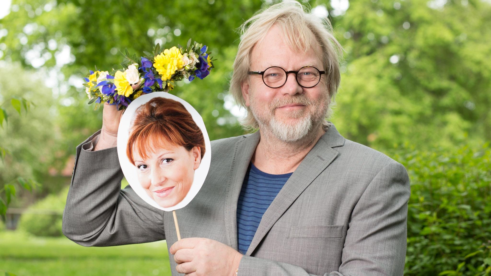 Anna Mannheimer och Peter Apelgren