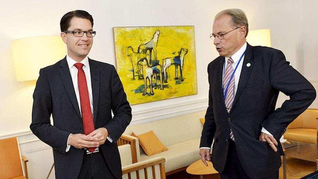 Шведские популисты требуют пост спикера Риксдага