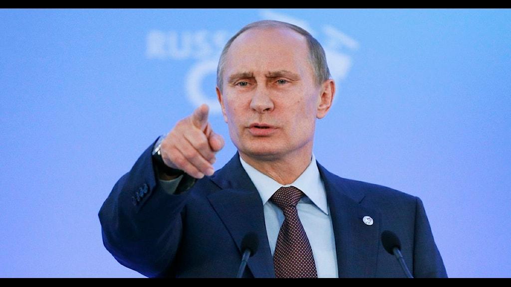 Vladimir Putin. Foto: Alexander Zemlianichenko/Scanpix