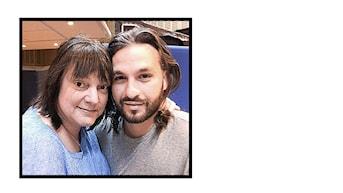 Instagrambild på Lotta Bromé och Steve Angelo
