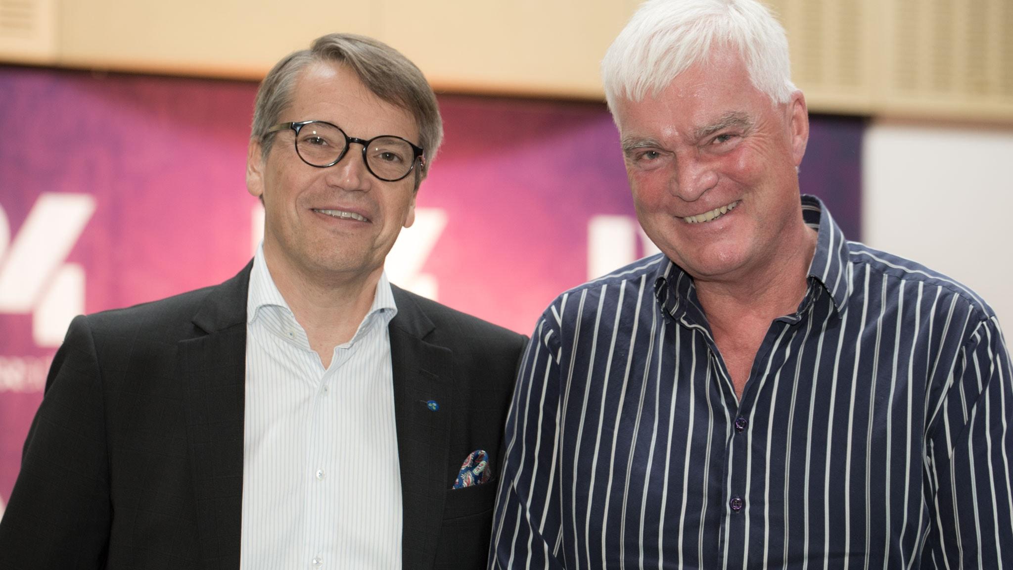 Göran Hägglund frågas ut i P4 Extra