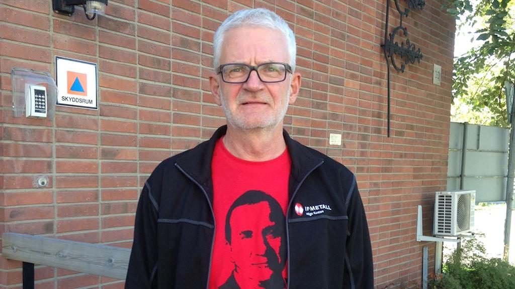 Göran Nilsson förhandlade med Stefan Löfven inom Metall. Foto: Lennart Sundwall/SR Västernorrland