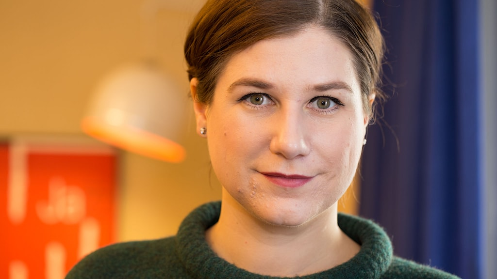 Kristin Lundell skrev boken om Greyhound-bussarna. Foto: Åsa Stöckel/Sveriges Radio