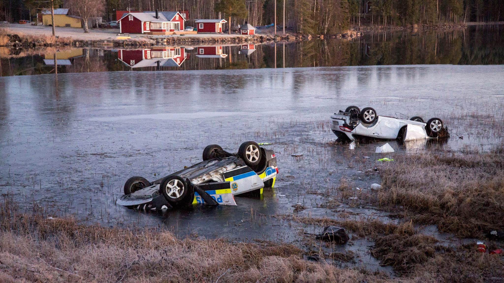Biljakten slutade i katastrof.  P4 Extra med Nina Allergren idag.