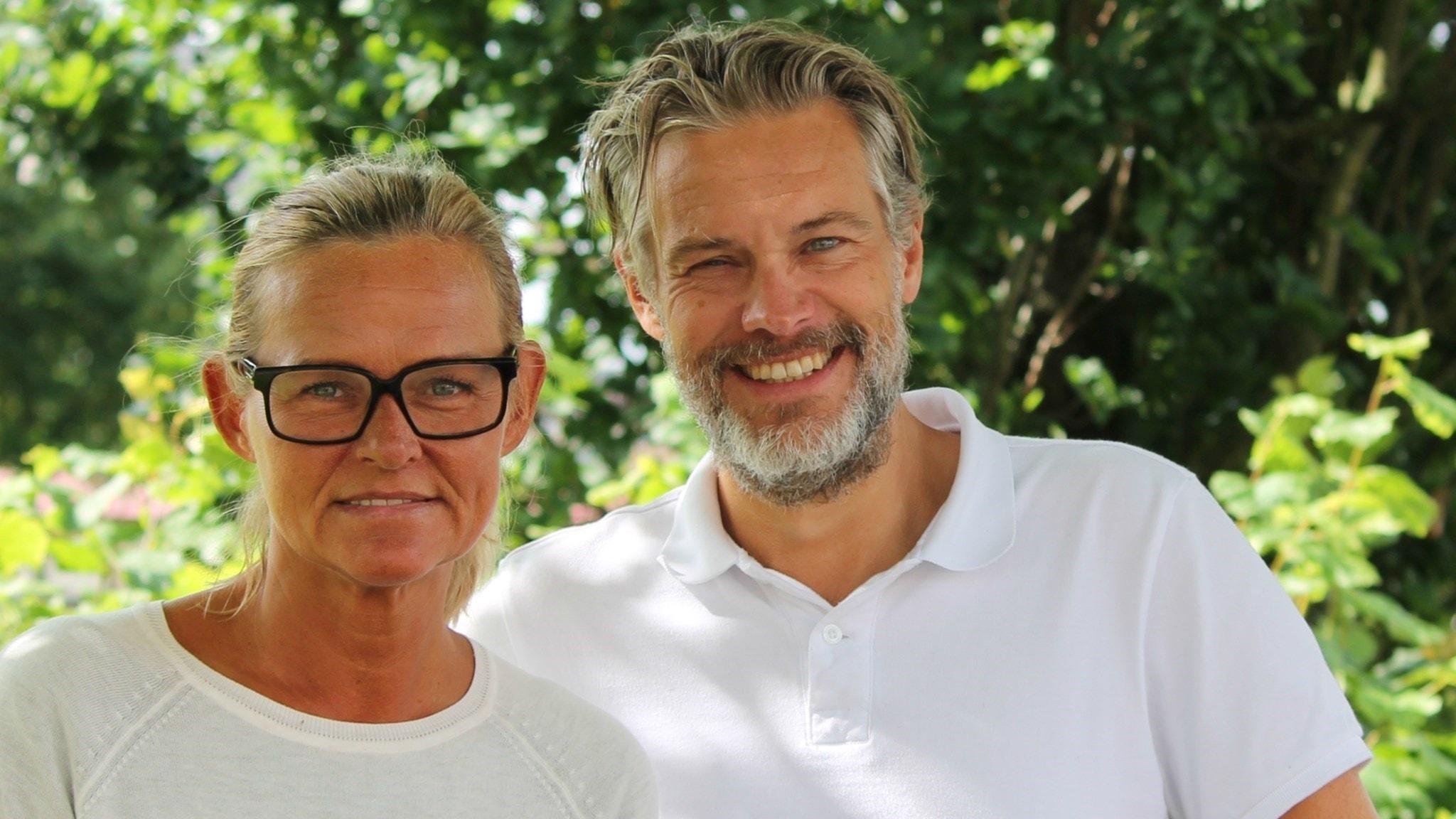 Med Fredrik B Ekdahl, Anne Marchal och Lars-Peter Hielle