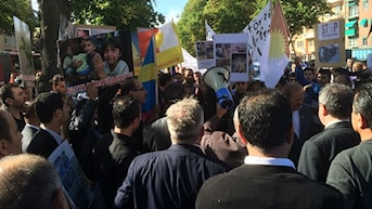 yezidi, yazidi, ezidi, shengal, kurder. Foto: Besir Kavak, Sveriges Radio