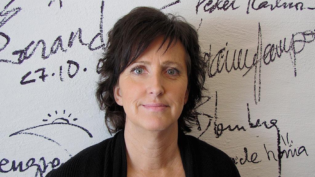 Lisbeth Östman. Foto: Henrik Wallenius/SR Gotland