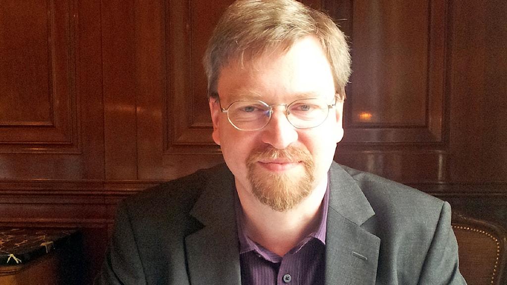 Peter Johansson, lektor vid institutionen för globala studier på Göteborgs Universitet. Foto: Nina Trollvige