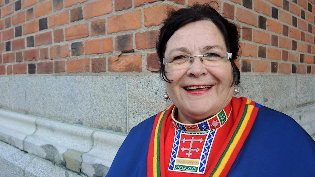 Agneta Granström (MP). Foto: SR Sameradion