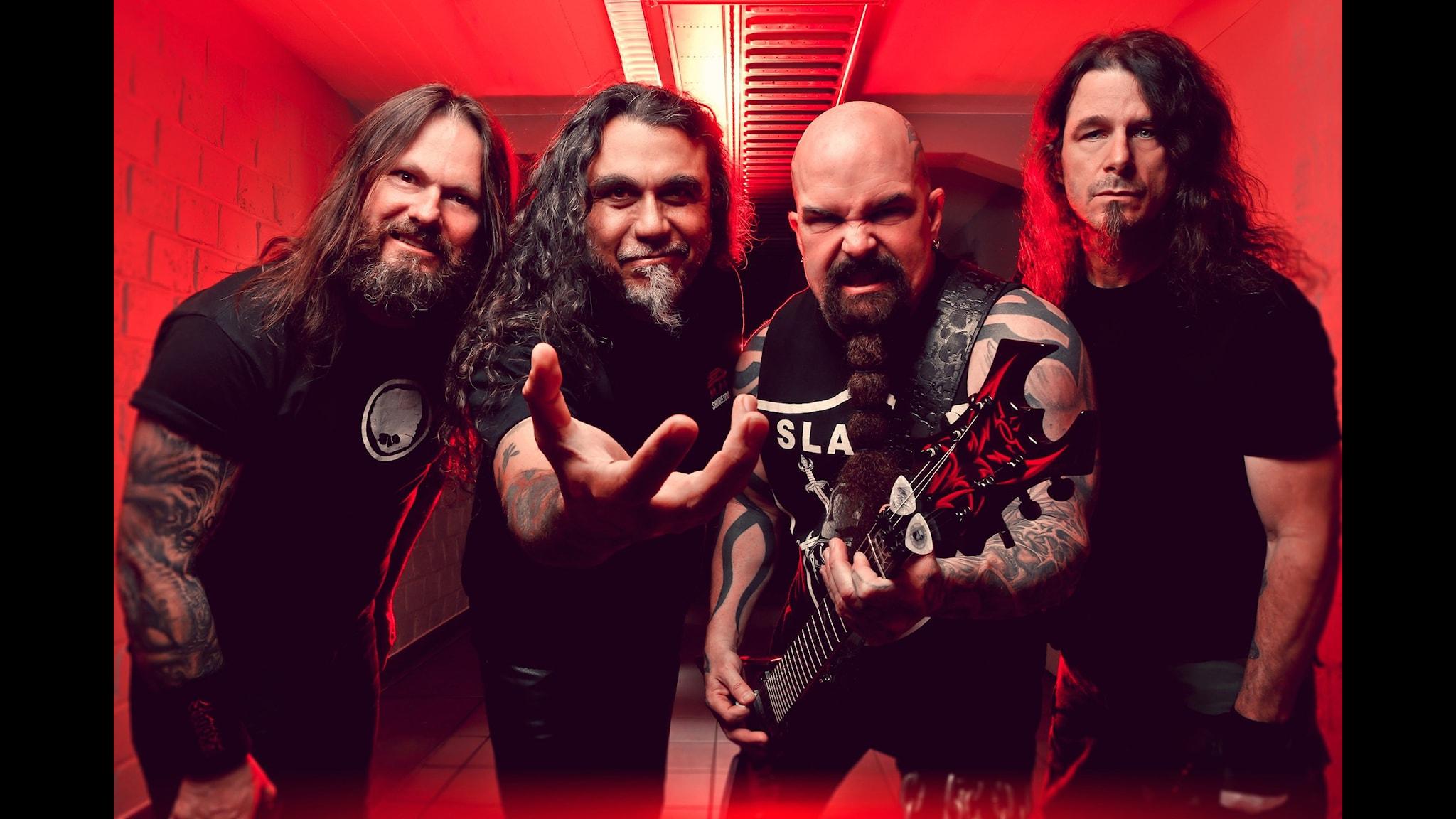 Intervju med Slayer, hyllning till Jimi Hendrix