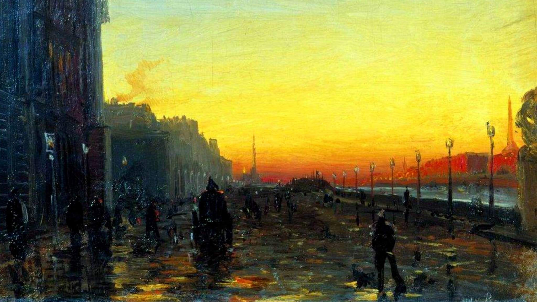 Gryning över Moskvafloden, solnedgången, en bekant inledning samt svit i gammal stil