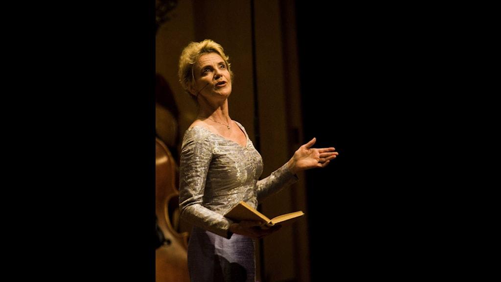 Stina Ekblad, recitation. Foto: Snezana Vucetic Bohm/SR