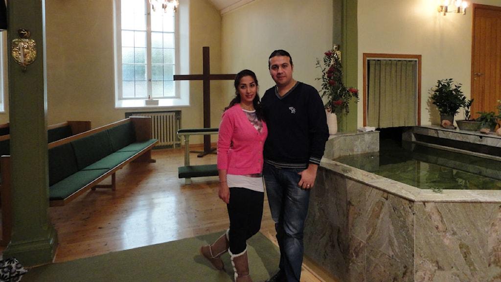 شهره حسام فر و همسرش