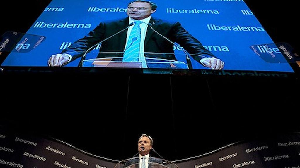 رئيس حزب الشعب ووزير التعليم يان بيوركلوند/ الصورة:  Pontus Lundahl/Scanpix
