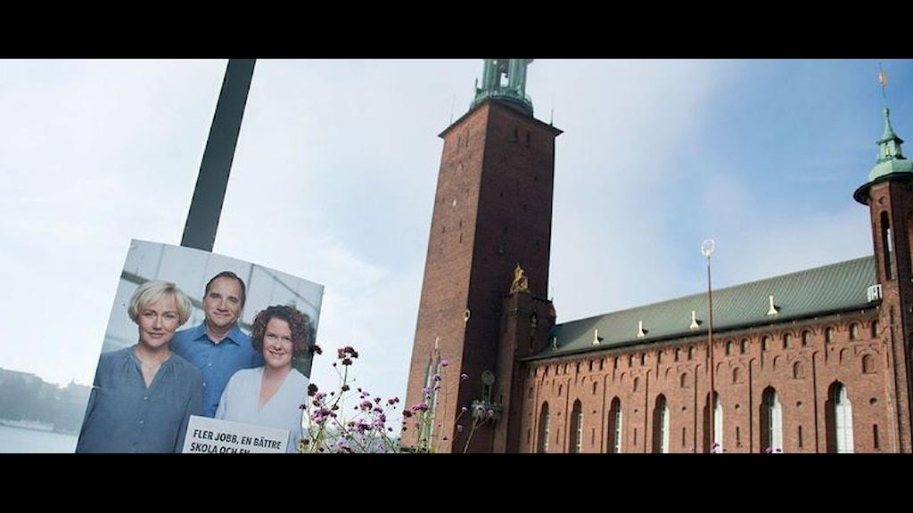 اغلبية خضراء، حمراء وردية في بلدية ستوكهولم، عدسة: وكالة الانباء السويدية ت ت