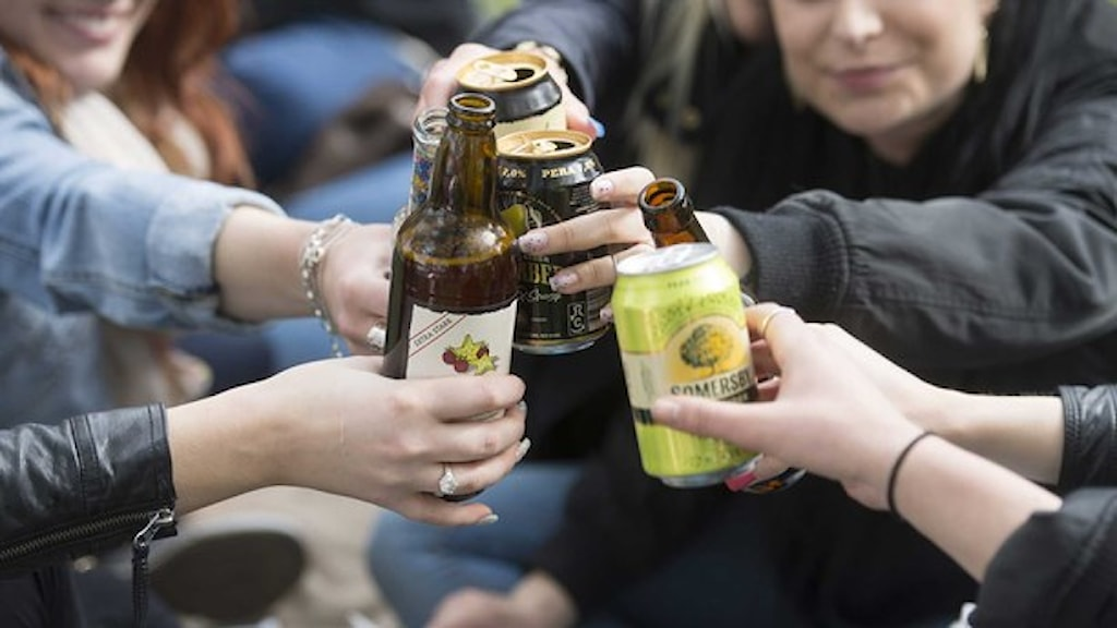 Tre av flickorna var så svårt alkoholförgiftade att det krävdes intensivvårdsbehandling. Foto: Fredrik Sandberg/TT