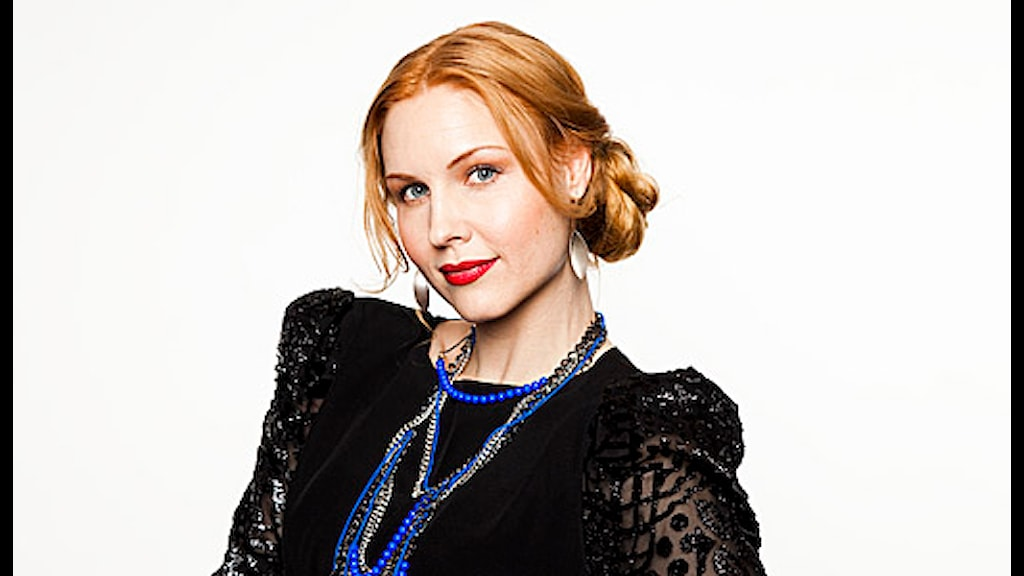 Jenny Silver. Foto Mattias Ahlm/Sveriges Radio