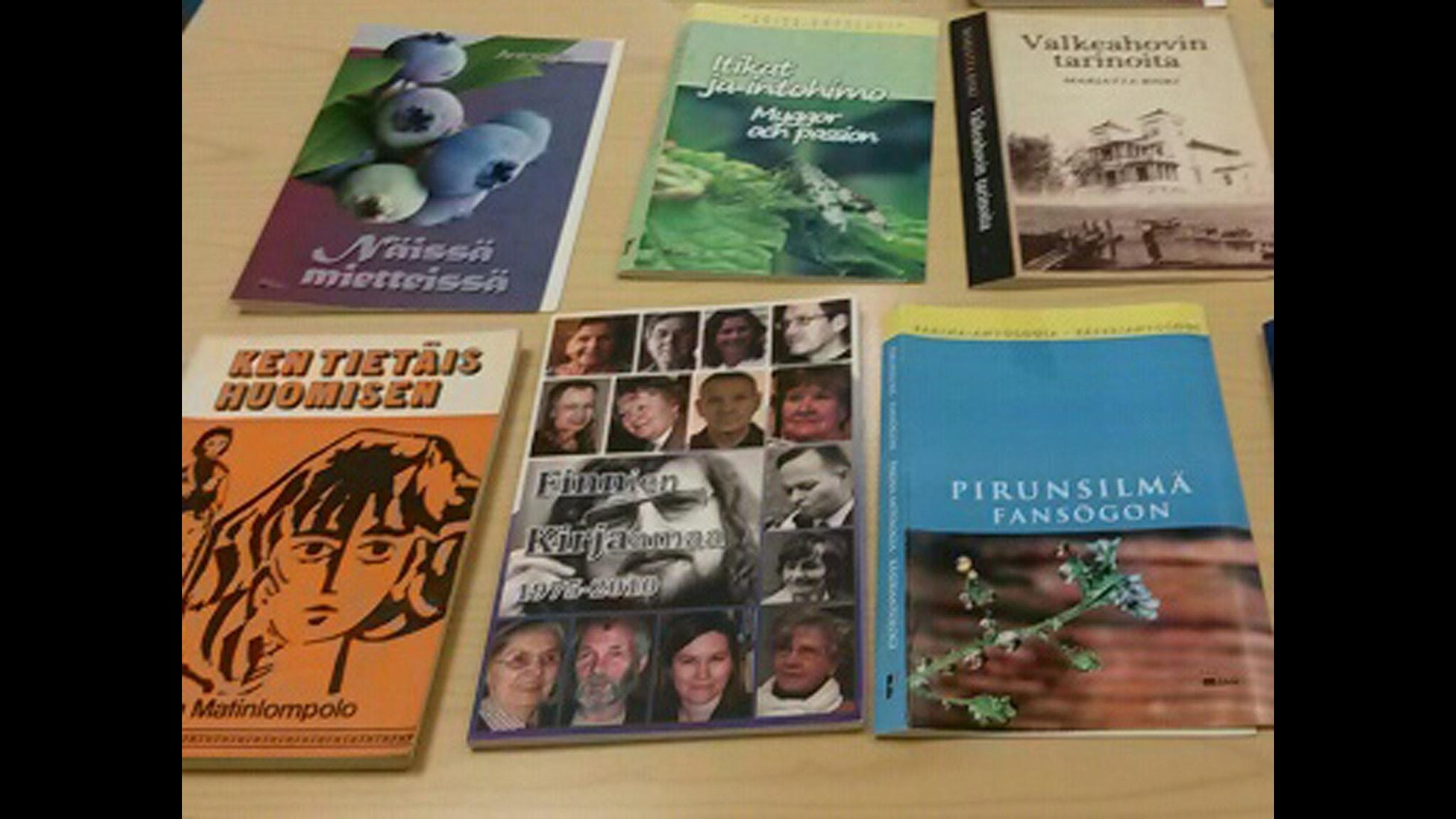 Ruotsinsuomalaista kirjallisuutta monelta suunnalta