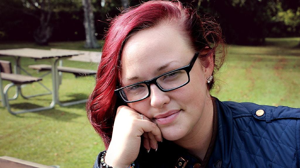 Katarina Hack vill flytta hemifrån. Foto: Raluca Dintica/SR