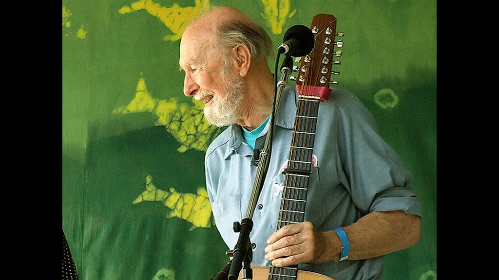 Pete_Seeger 2007 - Foto Anthony Pepitone, Wikipedia CC