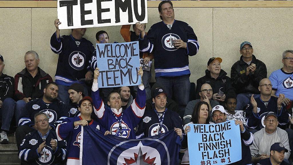2011-12-18 NHL, Winnipeg, publik. Foto: Scanpix