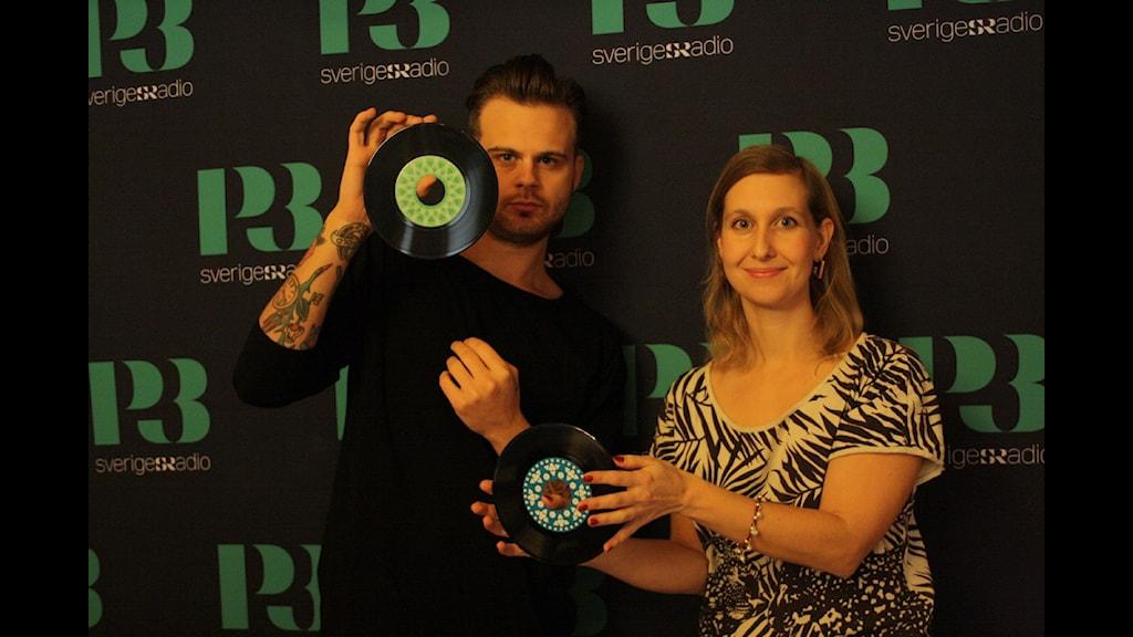 Anton Almqvist och Linda Nordeman. Foto: Sofia Thermaenius