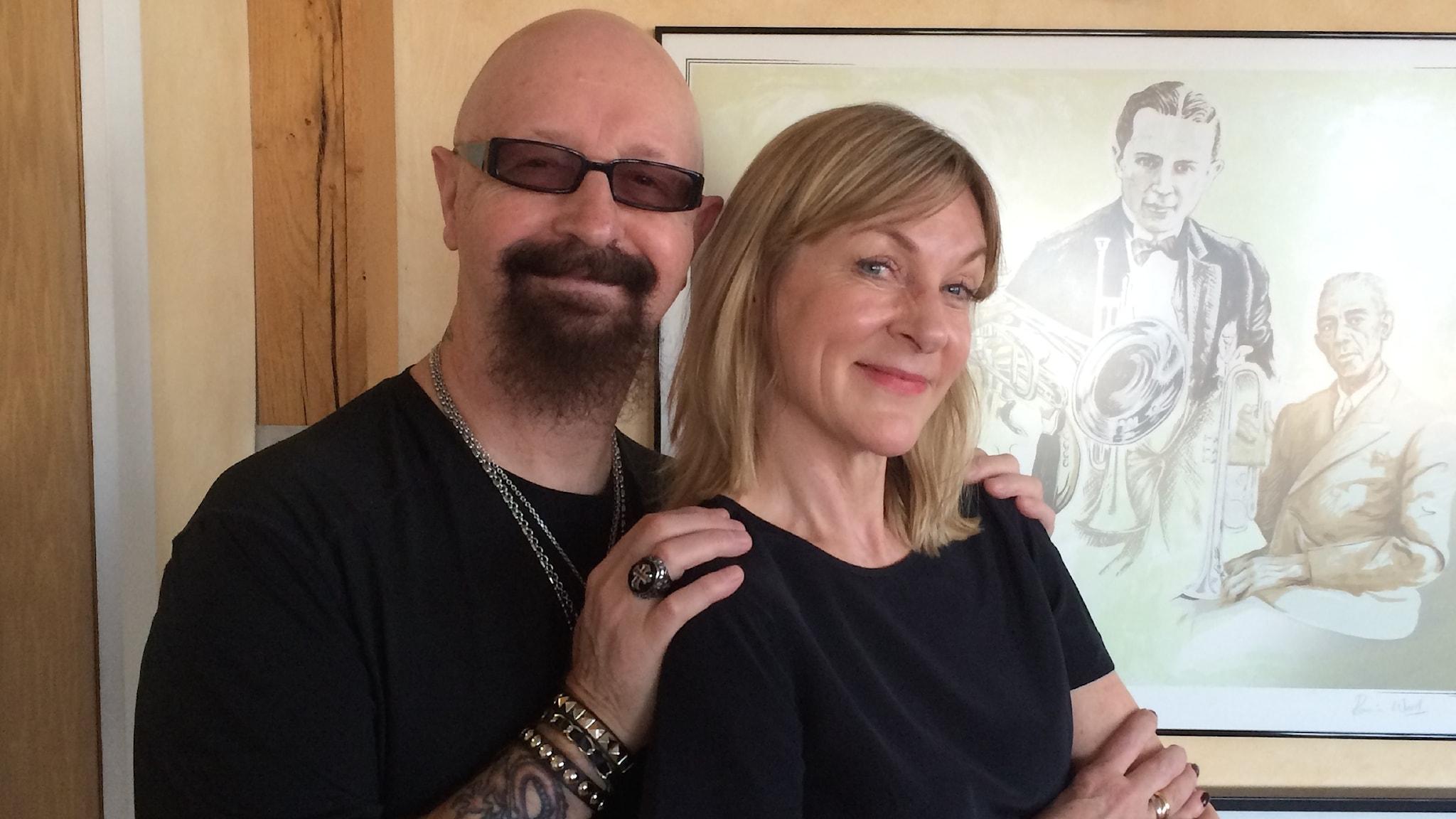 Susanne Ljung möter Rob Halford