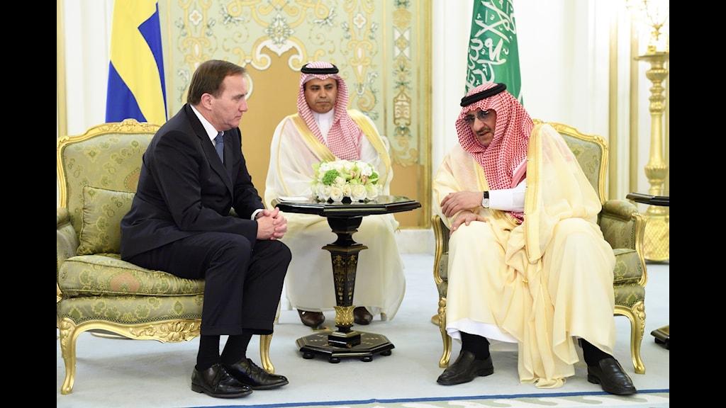 Sauditystnad och sekretesskrigande